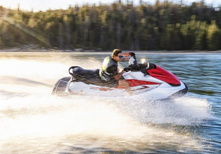 Kawasaki STX160 2021 action shot