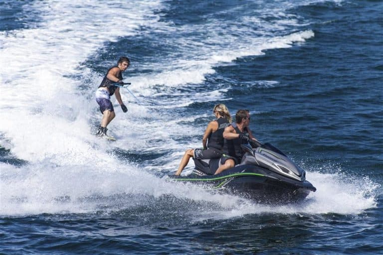 2015 Ultra LX Action Shot Watersports